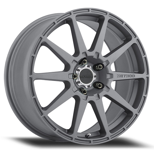 Method Race Wheels MR 501 Rally Titanium