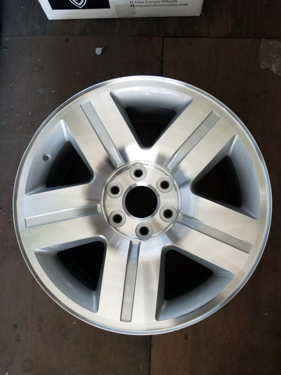 - OEM WHEELS - 2007-2011 GM 1500 20x8.5 5 SPOKE Hollander #5291 /  USED