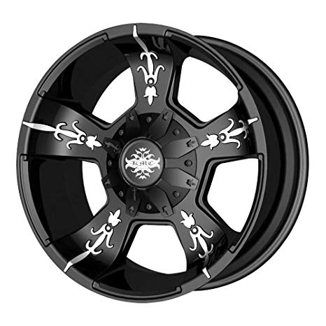 - WHEEL SPECIALS - KM668 MATTE BLACK (SOLD AS A SET OF 4)