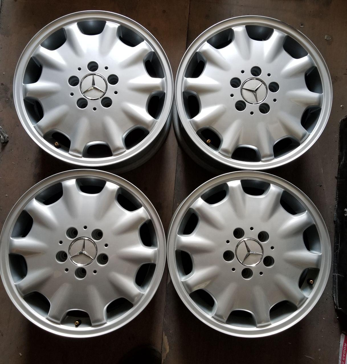 - OEM WHEELS - 1995-1999 MERCEDES E-CLASS 16x7.5 10 HOLE Hollander #65168 /  USED