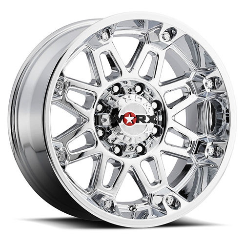 Worx Offroad Wheels 811 Conquest Chrome Plated