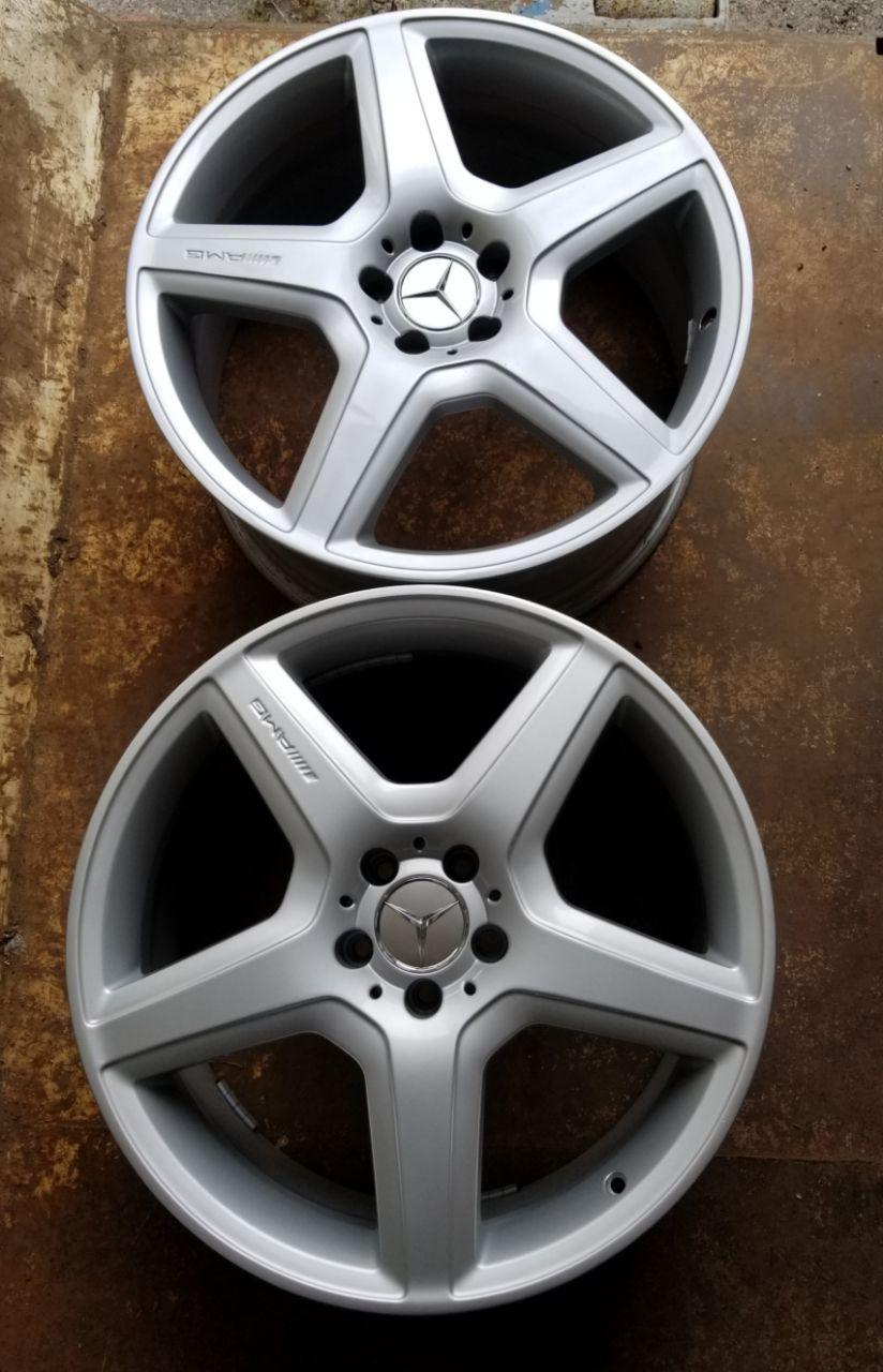 - OEM WHEELS - 2008-2013 MERCEDES CL/S-CLASS AMG 20x9.5 5 SPOKE Hollander #85062 /  USED