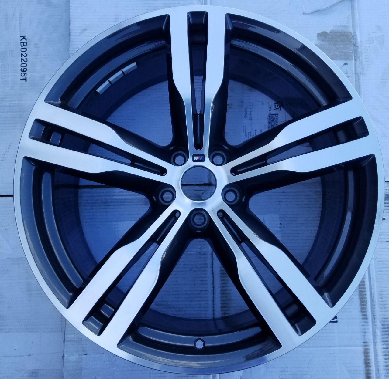 - OEM WHEELS - 2016 BMW 7 SERIES 20x8.5 5 DBL SPOKE Hollander #86281 /  USED