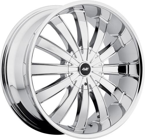 Avenue Wheels A610 Chrome