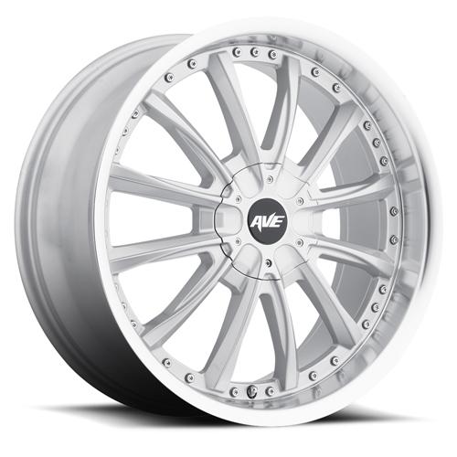 Avenue Wheels A611 Gloss Silver Machined lip