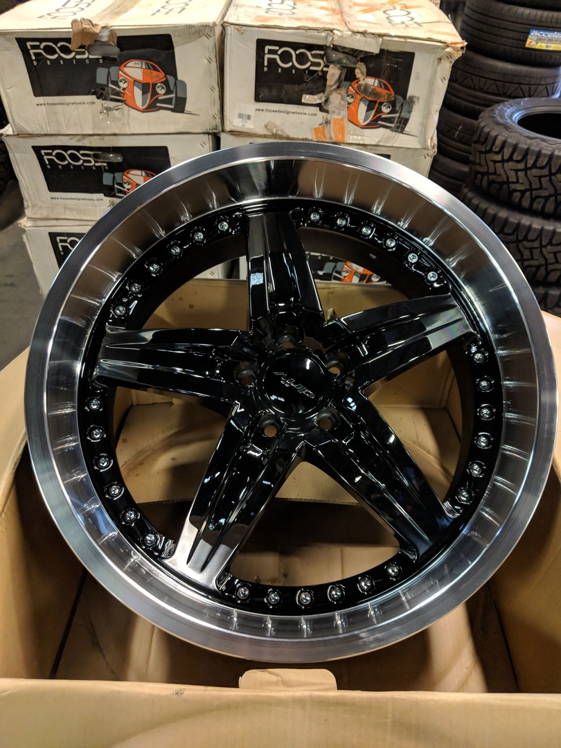 - WHEEL SPECIALS - DRIV MOONSHINE BLACK (SOLD AS A SET OF 4)