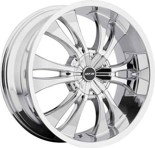 MKW Wheels M114 Chrome