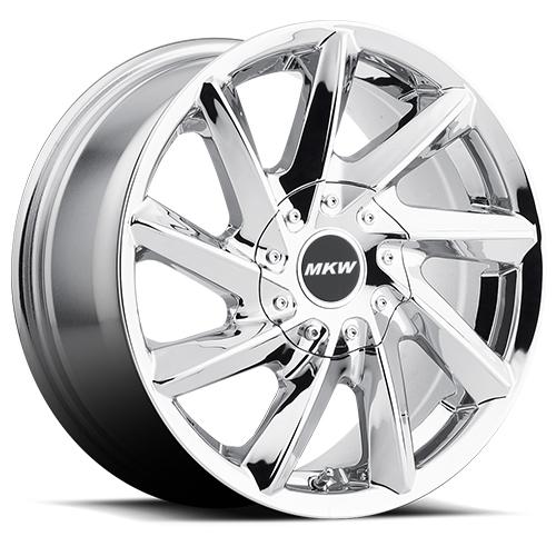 MKW Wheels M115 Chrome