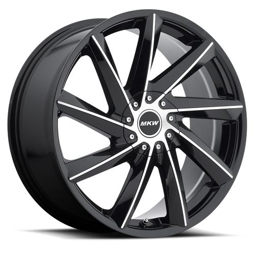 MKW Wheels M115 Gloss Black Machined