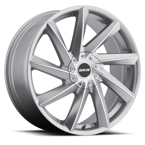 MKW Wheels M115 Gloss Silver Machined