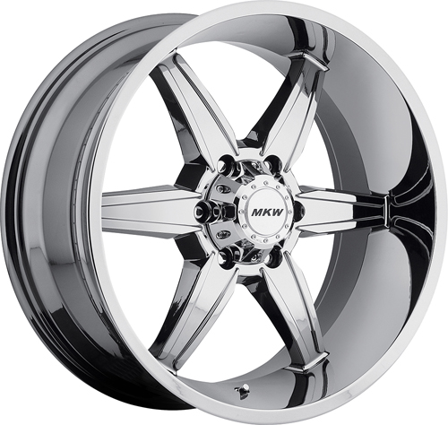 MKW Offroad Wheels M89 Chrome