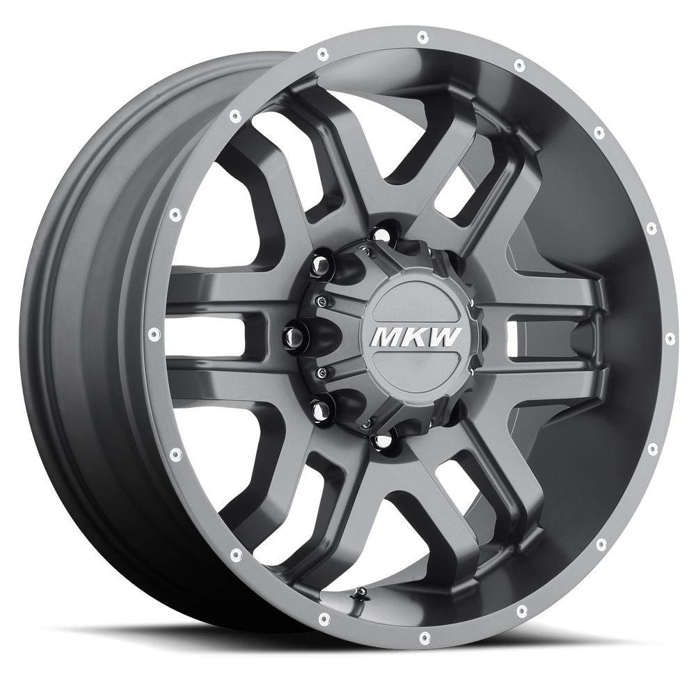 MKW Offroad Wheels M93 Anthracite Grey