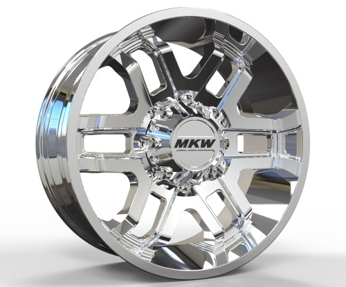MKW Offroad Wheels M93 Chrome