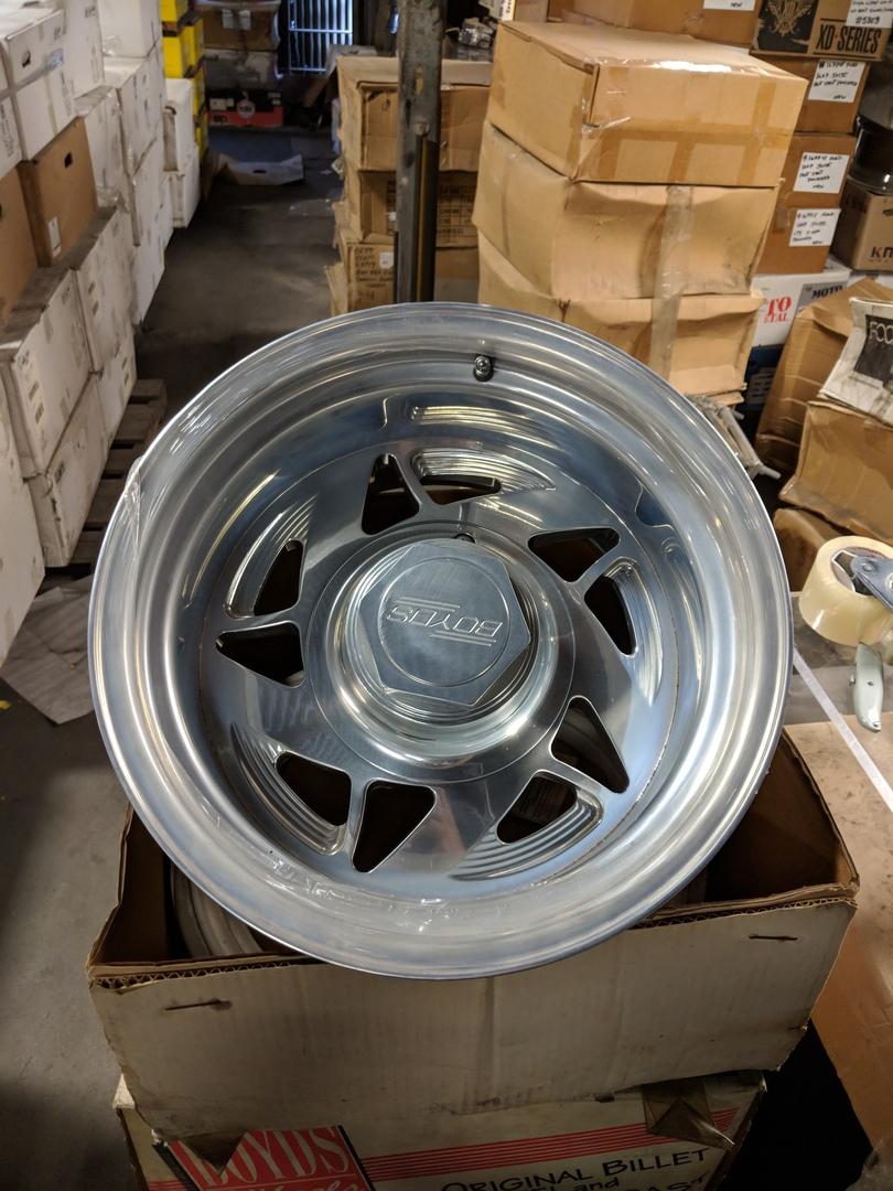 Boyd 5 Star 8 (Directional Set) 16x10 8x165 Wheels Polished
