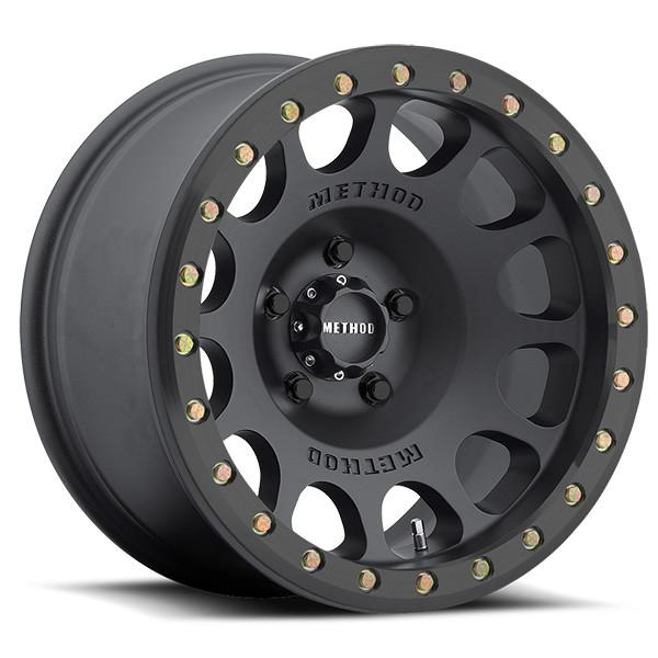 17x8.5 Method Race Wheels MR105 Beadlock Black