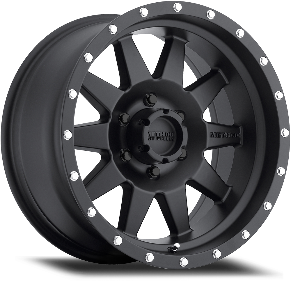 Method Race Wheels MR301 The Standard Black