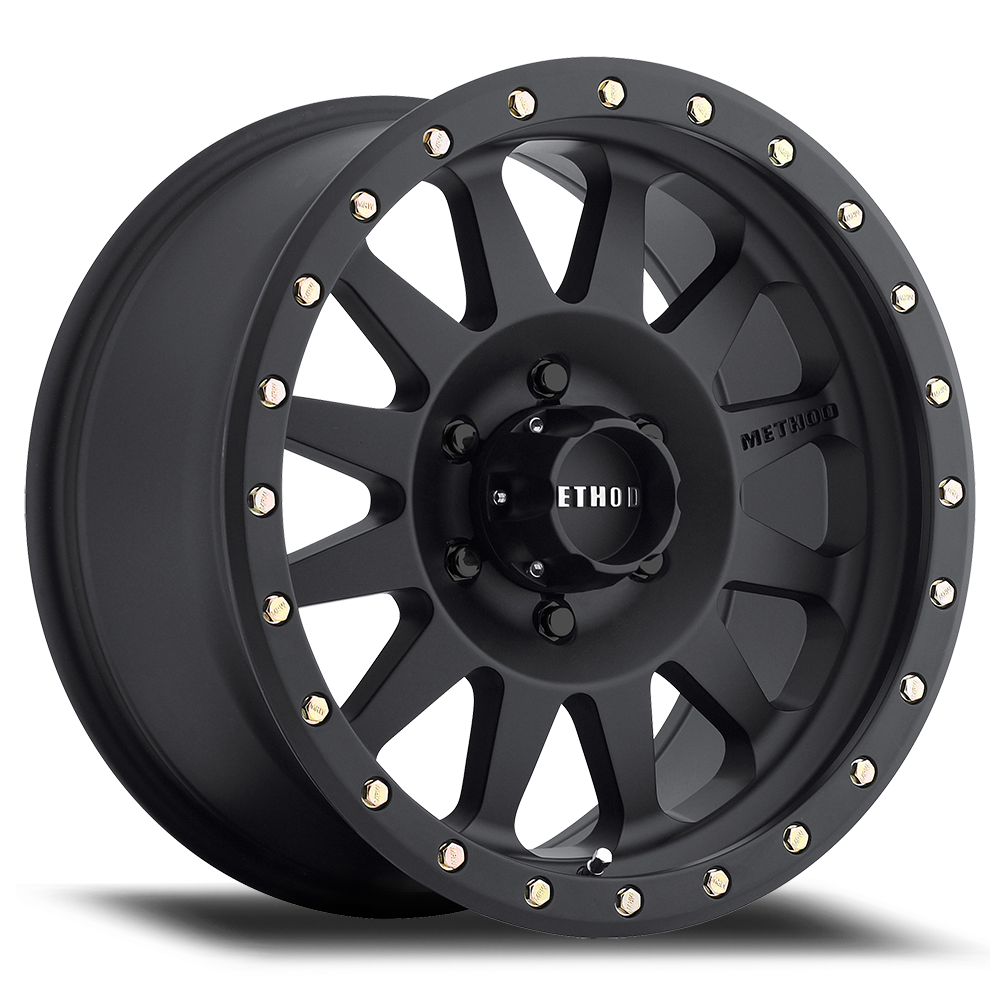 Method Race Wheels MR304 Double Standard Black