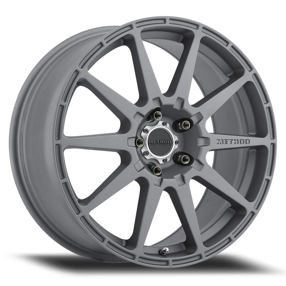 Method Race Wheels MR501 RALLY Titanium