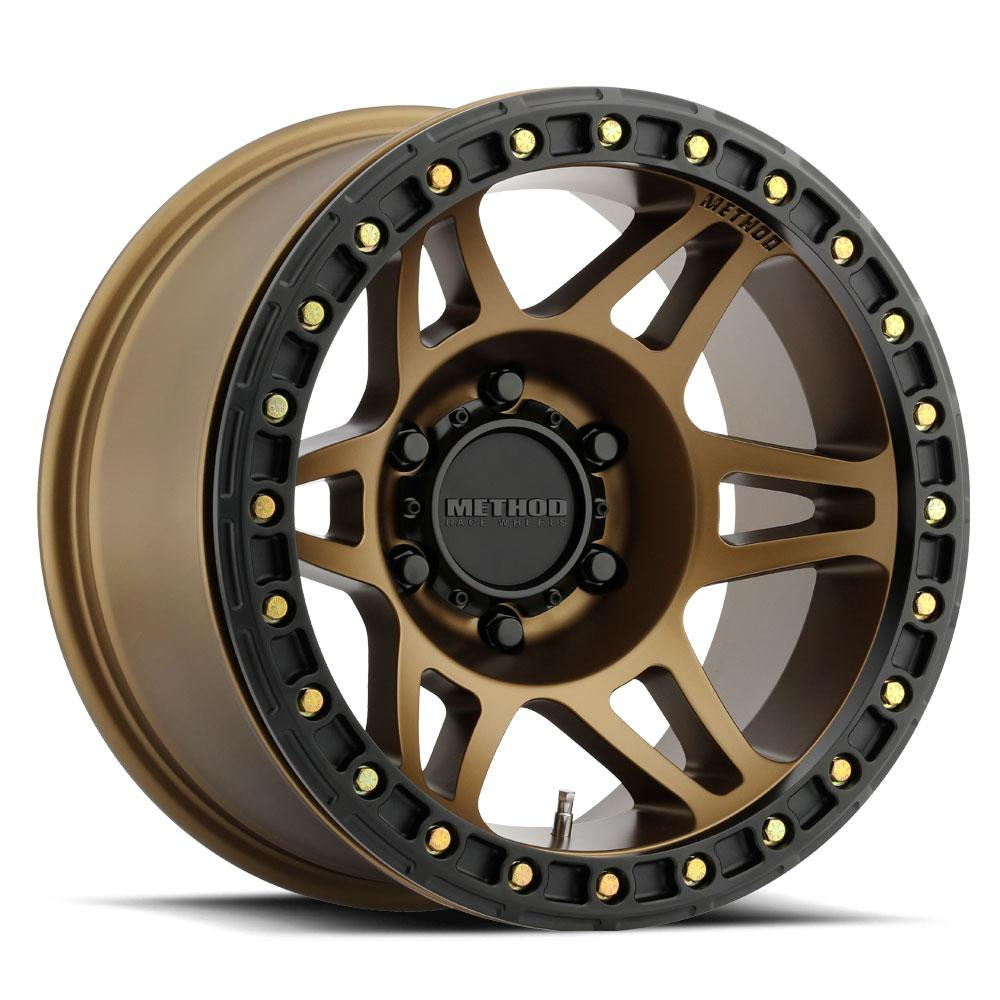 Method Race Wheels MR106 Beadlock Bronze