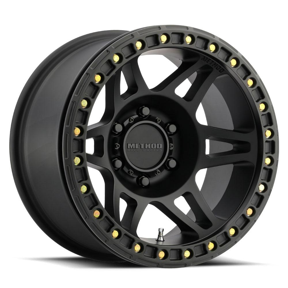 Method Race Wheels MR106 Beadlock Black