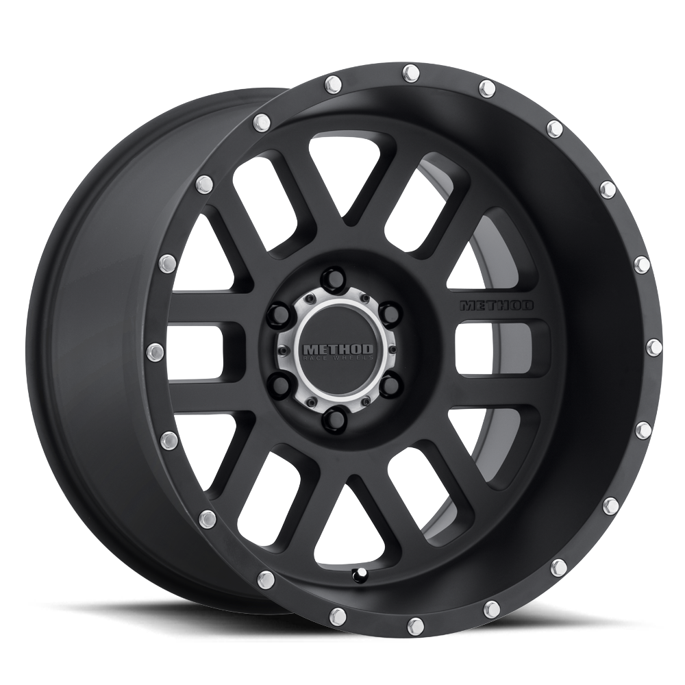 Method Race Wheels MR606 Mesh Black