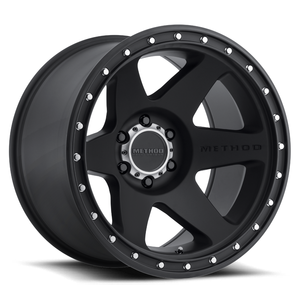 Method Race Wheels MR610 Con 6 Black