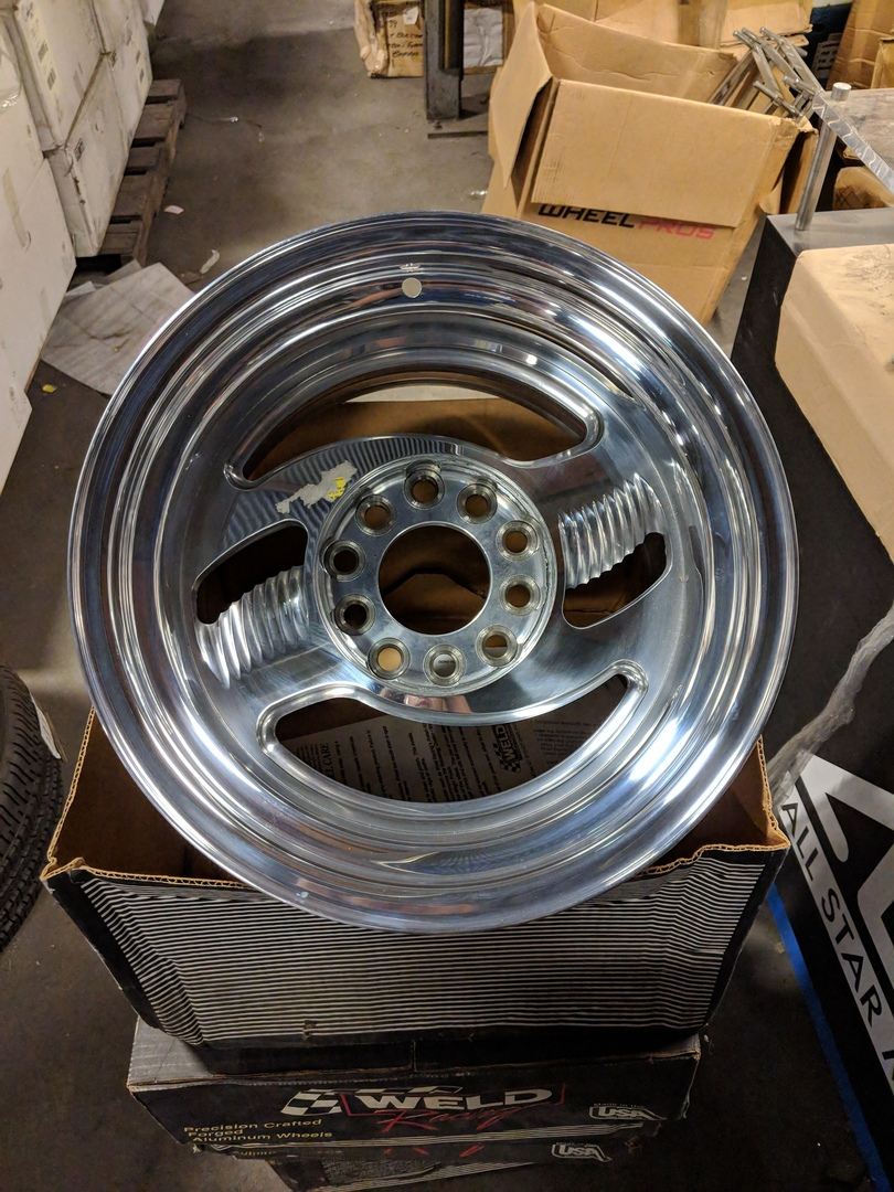 - WHEEL SPECIALS - Weld VR-33 Staggered 15x7/15x10 Wheels Polished