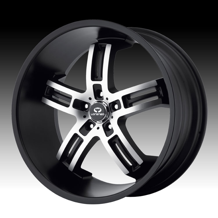 - WHEEL SPECIALS - WL026 MATTE BLACK/MACHINED (SOLD AS A SET OF 4)