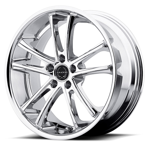 Asanti Black Label Wheels ABL-1 Chrome Plated