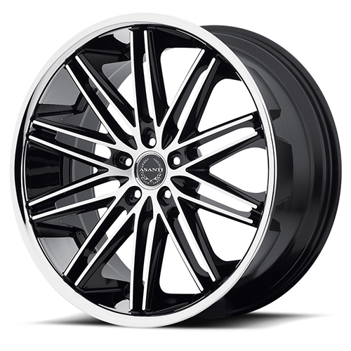 Asanti Black Label Wheels ABL-10 Machined Face with SS Lip