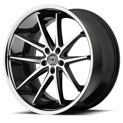 Asanti Black Label Wheels ABL-5 Machined Face with SS Lip