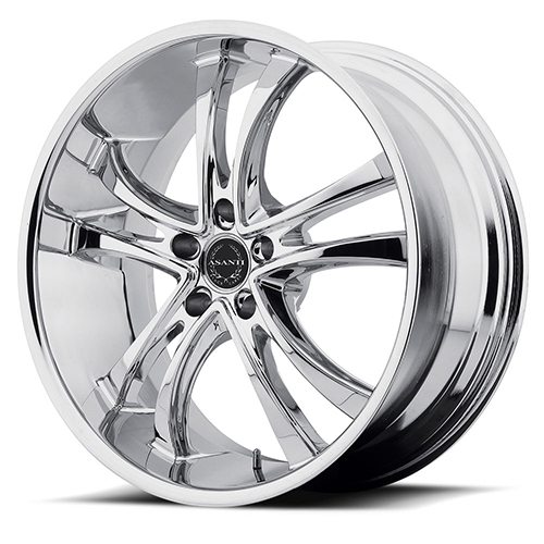 Asanti Black Label Wheels ABL-6 Chrome Plated