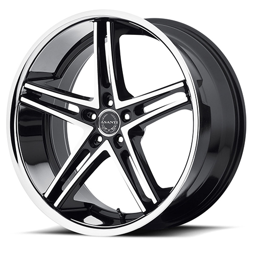 Asanti Black Label Wheels ABL-7 Machined Face with SS Lip