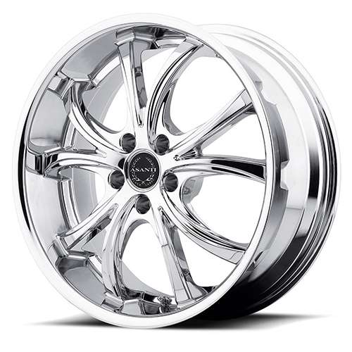Asanti Black Label Wheels ABL-8 Chrome Plated