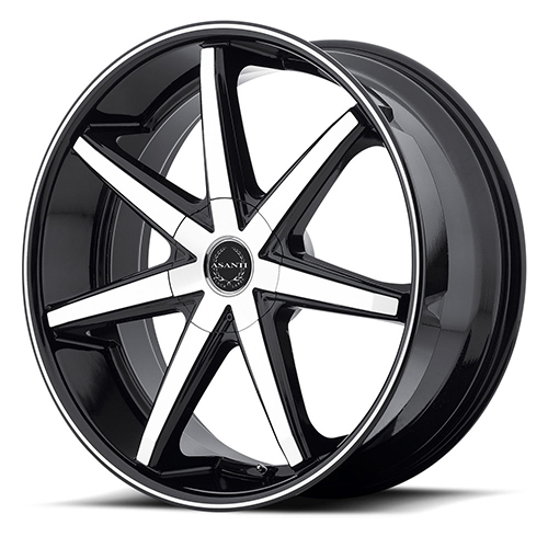 Asanti Black Label Wheels ABL-9 Machined Face with Black Lip