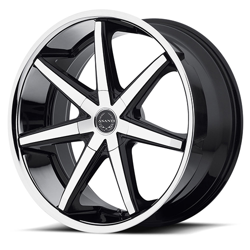 Asanti Black Label Wheels ABL-9 Machined Face with SS Lip