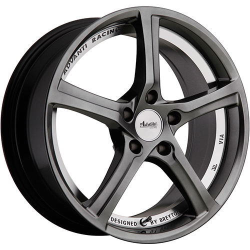 Advanti Racing Wheels 15Th Anniversary Hyper Dark Undercut