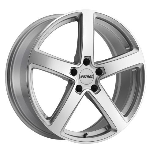 Petrol Wheels P2A Silver
