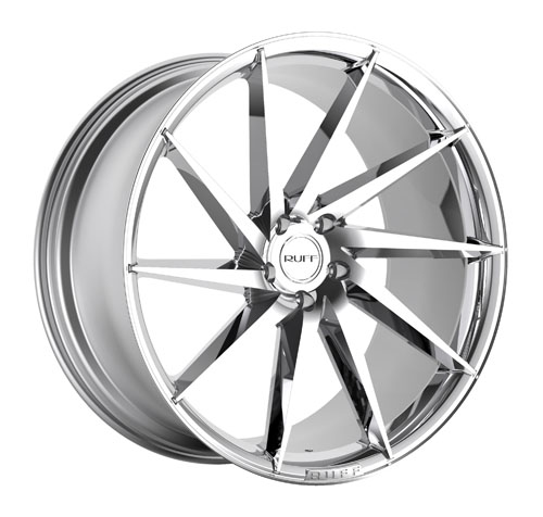 Ruff Wheels R2 Chrome