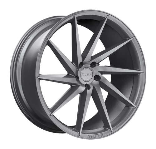Ruff Wheels R2 Gunmetal
