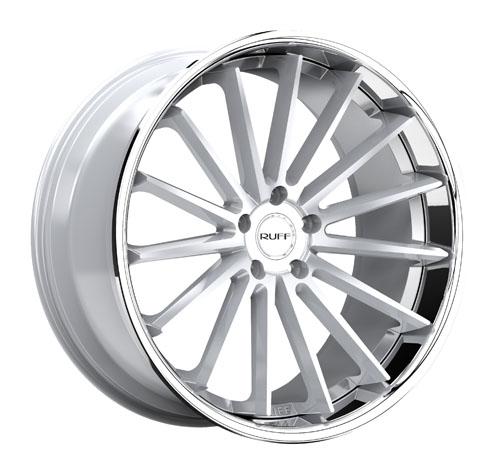 Ruff Wheels R03 Silver