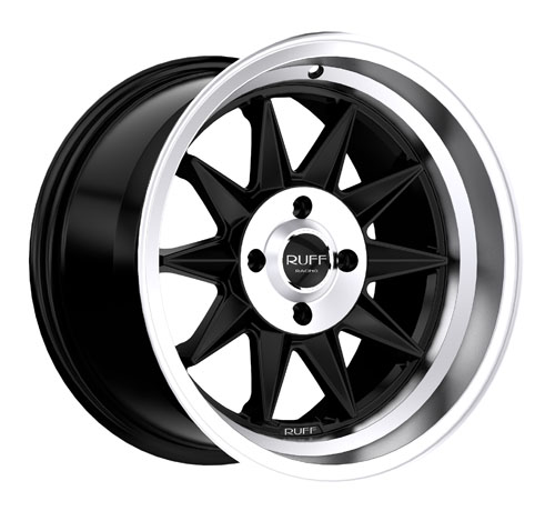 Ruff Wheels 358 Black