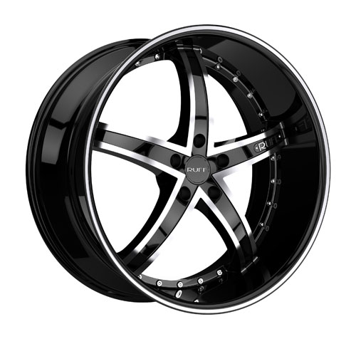 Ruff Wheels R953 Black