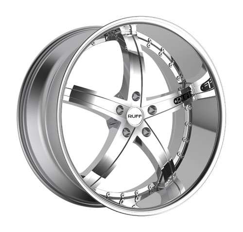 Ruff Wheels R953 Chrome