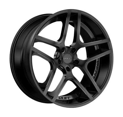 Ruff Wheels R954 Black