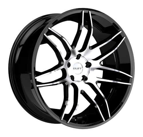 Ruff Wheels R960 Black