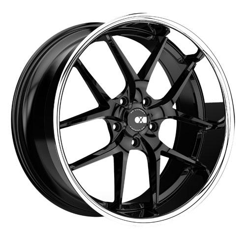 XO Luxury Wheels New York Black