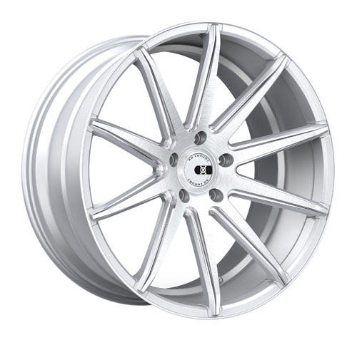 XO Luxury Wheels New York Silver