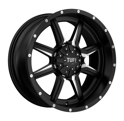 Tuff A.T (All-Terrain) Wheels T14 Black