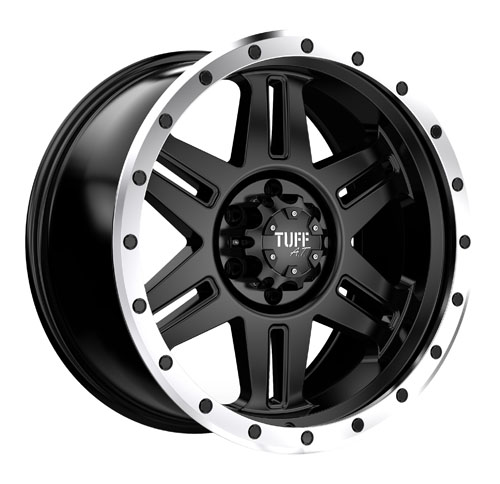 Tuff A.T (All-Terrain) Wheels T16 Gunmetal